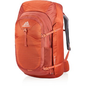 Gregory Tetrad 75 Rucksack Herren ferrous orange